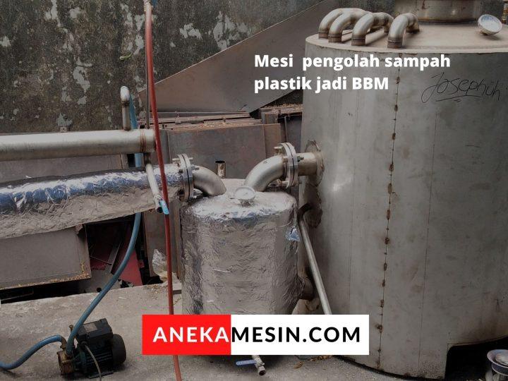 pengolahan plastik menjadi bahan bakar